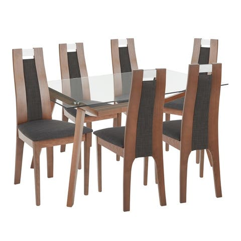 Carson Carrington Gide Contemporary Upholstered Dining Set