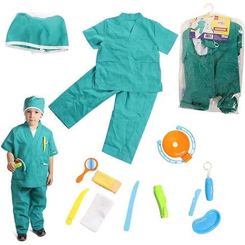 DRESS 2 PLAY Pretend Surgeon Costume, with Accessories