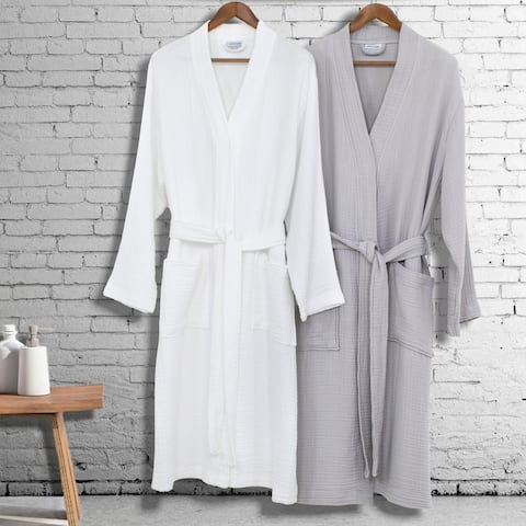 Authentic Hotel and Spa 100% Turkish Cotton Smyrna Luxury Robe