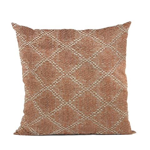 Plutus Brown Diamond Luxury Throw Pillow