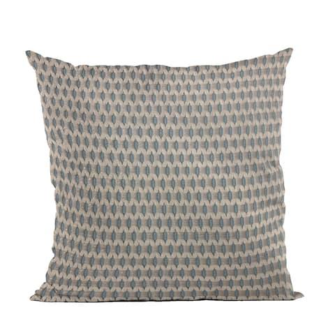 Plutus Blue Rocks Dot Luxury Throw Pillow