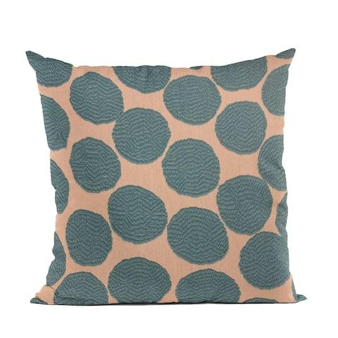 Plutus Blue Dots Luxury Throw Pillow