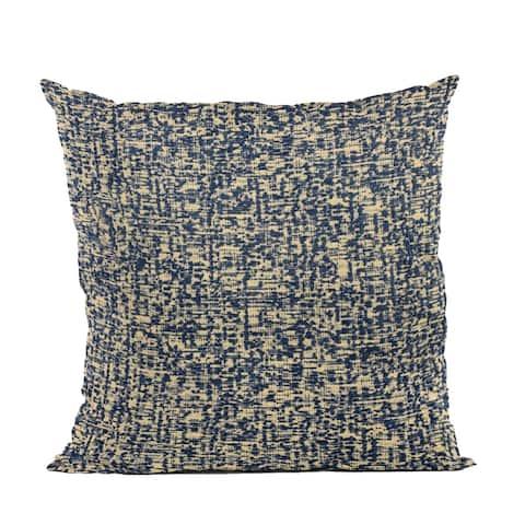 Plutus Blue Dotted Luxury Throw Pillow