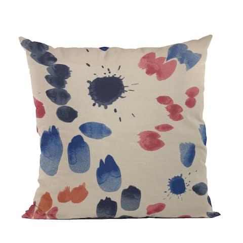 Plutus Multi-Color Creative Art Dot Luxury Throw Pillow