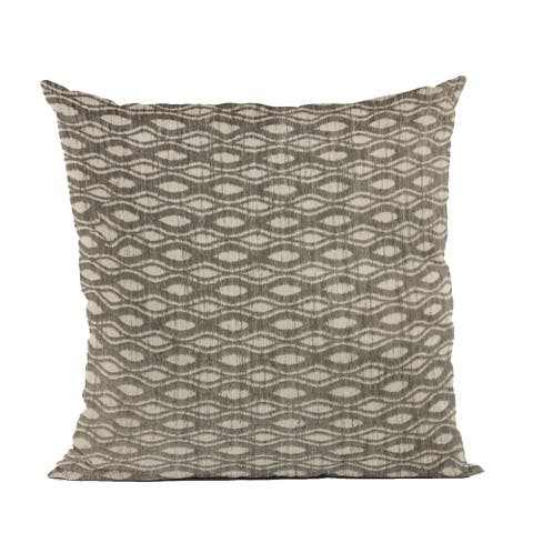 Plutus Brown Bites Dot Luxury Throw Pillow