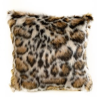 Link to Plutus Brown Tiger Animal Faux Fur Luxury Throw Pillow Similar Items in Decorative Accessories