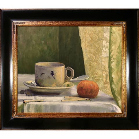 """La Pastiche Cup and Mandarin with Opulent Frame, 29"""" x 33"""""""