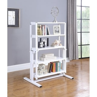 Somette Convertible Bookshelf to Dining Table