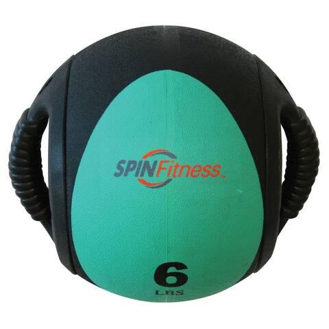 SPIN Fitness® Dual Grip Medicine Ball 6lb - 20lb