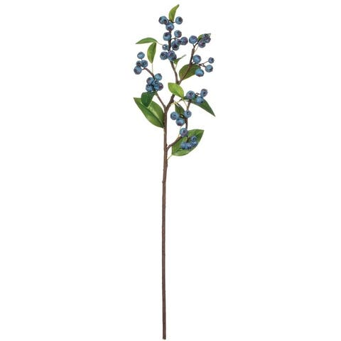 Blueberry Stem - Blue