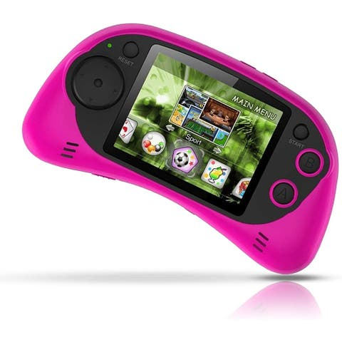 IQ Toys Handheld Portable Digital Screen 200 Preloaded Games, 2.7 Inch