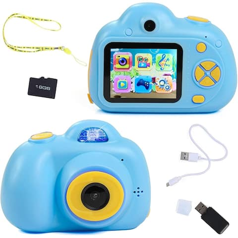 IQ Toy Digital Camera Gift for Kids- Takes Pictures, Videos, Records