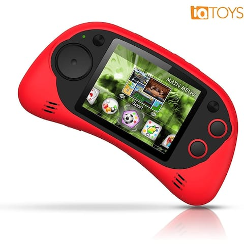 IQ Toys Handheld 200 Arcade Game Zone Player Console