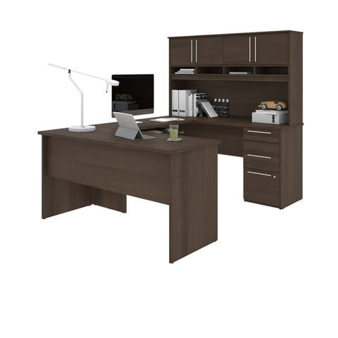 Bestart Innova Plus U-Shape Desk with Hutch