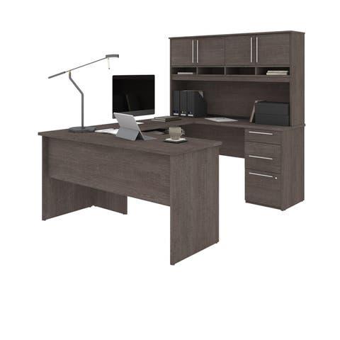 Bestart Innova Plus U-Shape Desk with Hutch