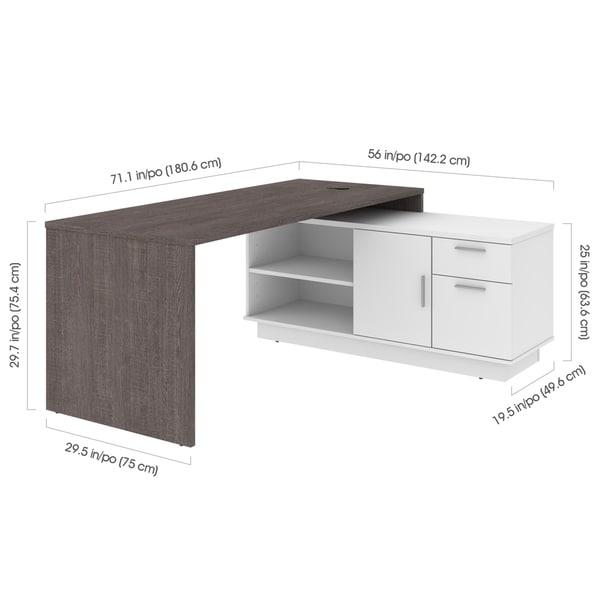 Bestar Equinox L-Shaped Desk
