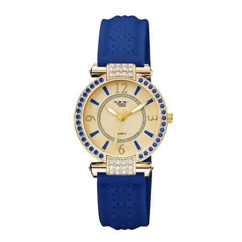 36MM Milano Expressions Silicon Band Watch - One Size