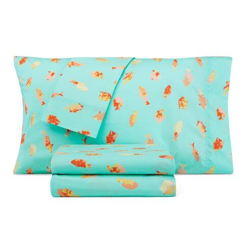 Nautica Kids Tropical Fish Cotton-Rich Sheet Set