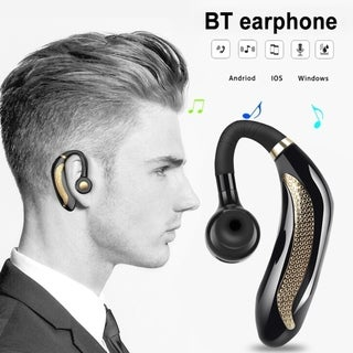 Link to Wireless Headset Bluetooth 5.0 Headphone Handsfree Earbuds Headphone Headset with Microphone Stereo Earphone Similar Items in Cell Phone Accessories