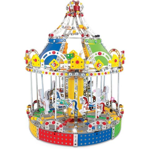 IQ Toys Carousel Merry Go Around Building Model