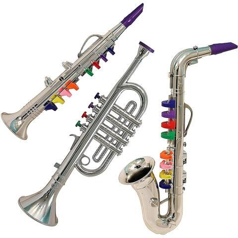 IQ Toys Junior Band 3 Piece Instrument Set
