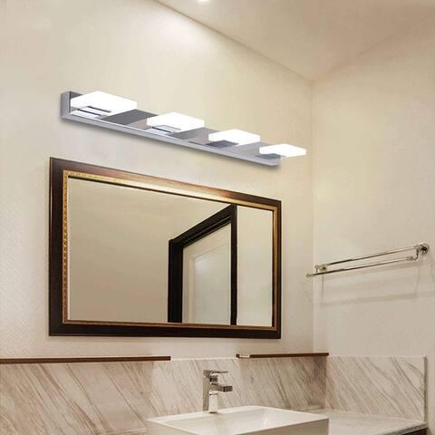 Household 12W Four Lamps Bathroom Sconces Lighting White Light