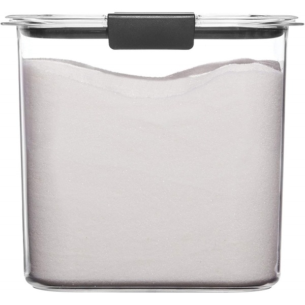 Clear Pantry Storage Containers: Shop Rubbermaid 1994227 Container, BPA-Free Plastic, Clear