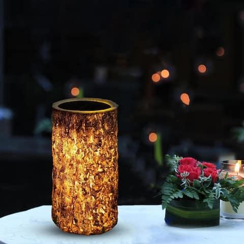 Outdoor Landscape Lamp Waterproof Solar LED Decorative Stump Light