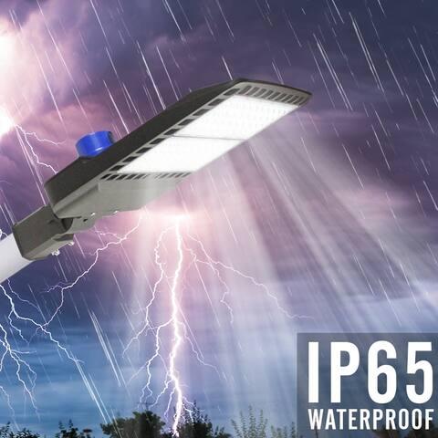 150W Outdoor Waterproof Street Light Walkway Lamp Rotating Handle