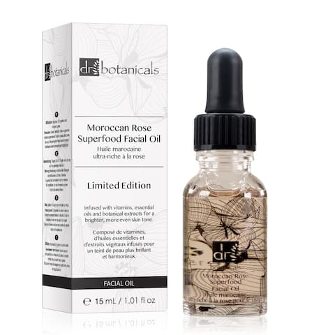 Dr Botanicals Moroccan Rose Superfood Facial Oil - Limited Edition 15ml