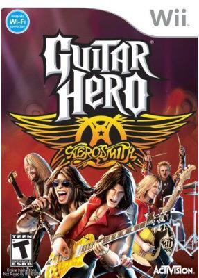 Wii - Guitar Hero: Aerosmith