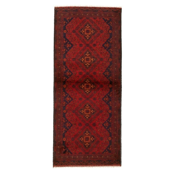 Hand-knotted Finest Khal Mohammadi Red Wool Rug. Opens flyout.