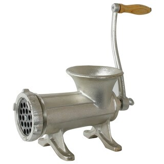 Hand-operated 5-pound Cast Iron Meat Grinder