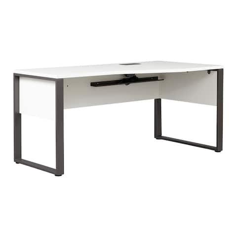 Rye Studio Tirol Modern Office Crescent Desk