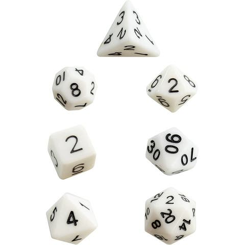 IQ Toys 7 Einstein Polyhedral Dice