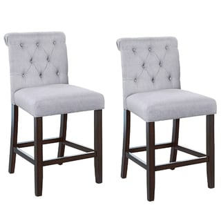 Shop Woven Wicker And Fabric Upholstered Armless Chair