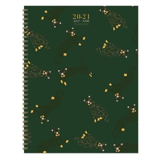 Link to July 2020-June 2021 8.5x11 Large Daily Weekly Monthly Lots of Leopards Spiral Planner with Stickers Similar Items in Planners & Accessories