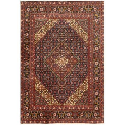 Handmade One-of-a-Kind Tabriz Wool Rug - 6'5 x 9'4