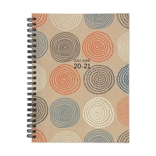 Link to July 2020-June 2021 6x8 Medium Daily Weekly Monthly Circles Spiral Planner with Stickers Similar Items in Planners & Accessories