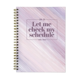 Link to July 2020-June 2021 6x8 Medium Daily Weekly Monthly Check My Schedule Spiral Planner with Stickers Similar Items in Planners & Accessories
