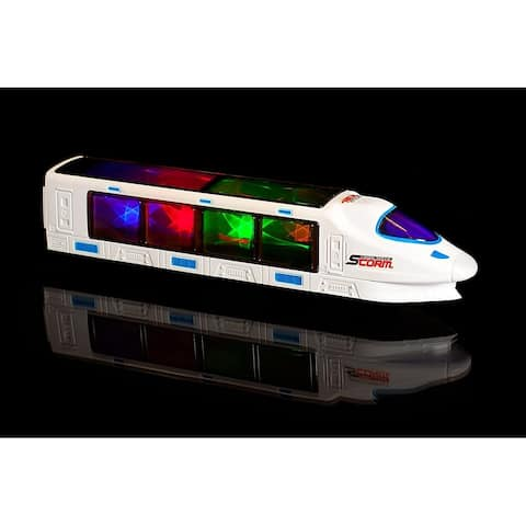 IQ Toys Musical 3D High Speed Lightning Electric Train Toy for Kids