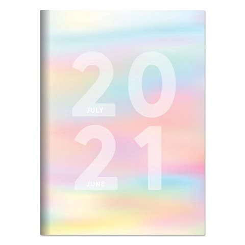 July 2020-June 2021 7.5x10.25 Diverging Colors Medium Monthly Planners