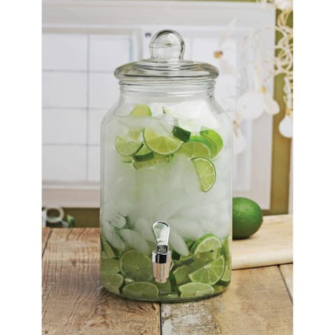 Charming Country Beverage Dispenser
