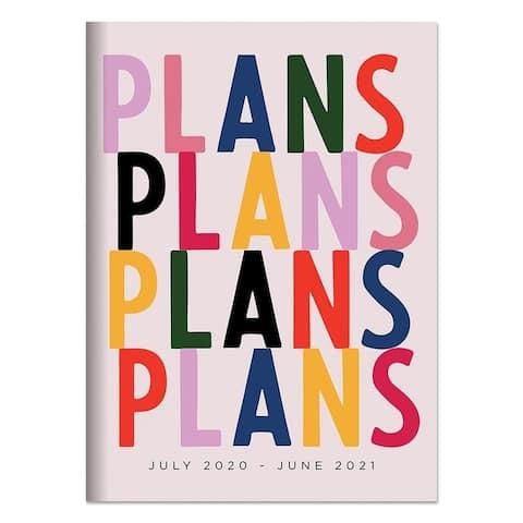July 2020-June 2021 7.5x10.25 Plans Plans Plans Plans Medium Monthly Planner