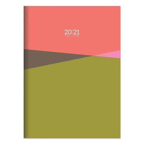 July 2020-June 2021 7.5x10.25 Prism Date Medium Monthly Planner