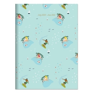 Link to July 2020-June 2021 7.5x10.25 Surf Sand Medium Monthly Planner Similar Items in Planners & Accessories