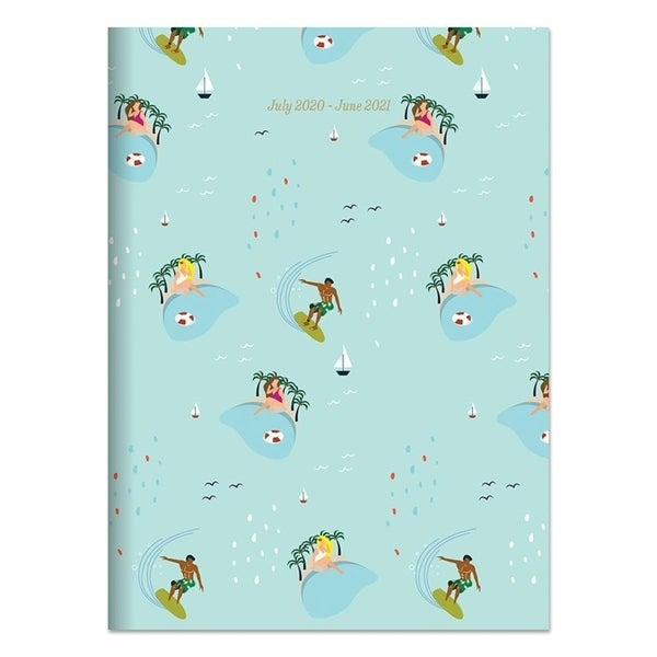 July 2020-June 2021 7.5x10.25 Surf Sand Medium Monthly Planner. Opens flyout.