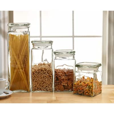 Yorkshire 4 Pc Canister Set