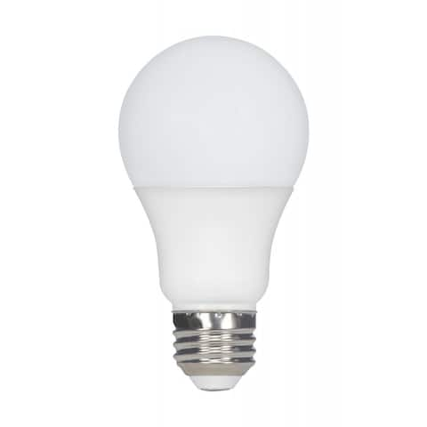 9.8 Watt A19 LED 3000K Medium Base 120 Volts - White