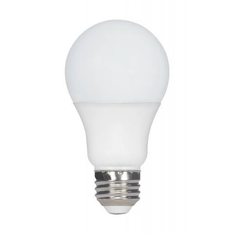 9.8 Watt A19 LED 2700K Medium Base 120 Volts - White